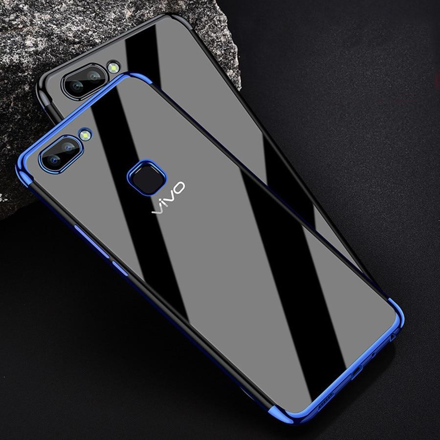 VIVO Nex S X21 Case Silicone Phone Cover for Vivo X7 X9 X20 Plus Case Cover VIVO V9 V7 Plus Y55 Y66 Y67 Y69 Y71 Y75 Y79 Y83 Y85