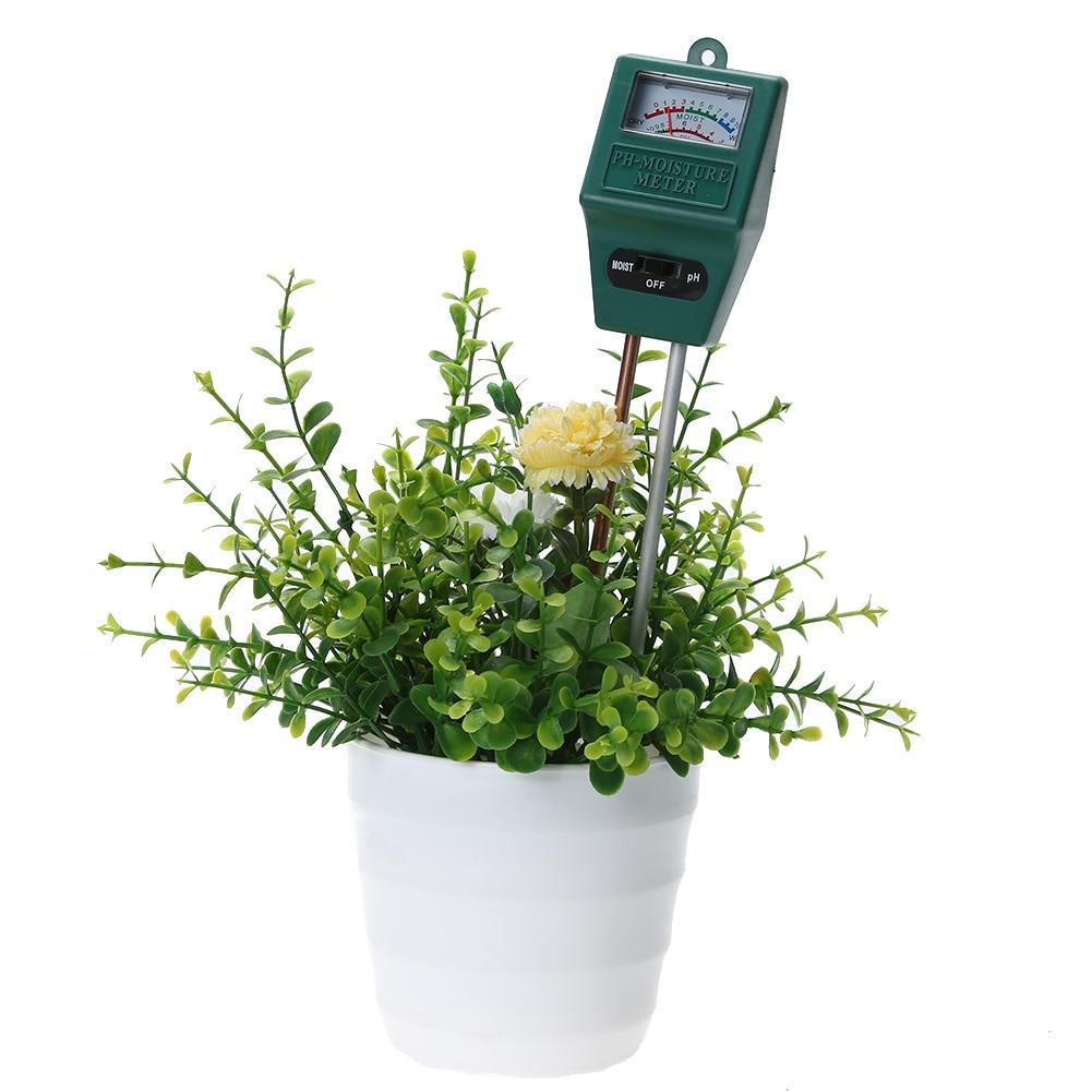 Sodas Dirvožemio drėgnumas PH lygio matuoklis Sodininkystė Augalai - Matavimo prietaisai - Nuotrauka 2