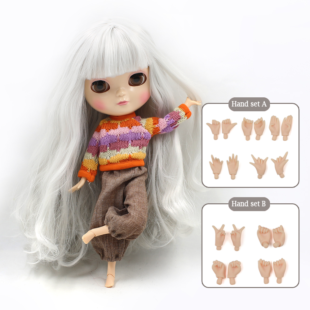 NO.1003 Cute ICY joint doll articulation body including hand set AB Gift for girls like the Neo blyth doll 1/6 30cm high