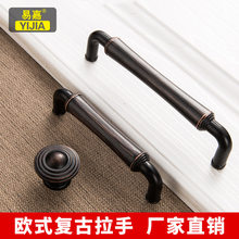 Retro Door Knob Cabinet Drawer Handle Door Knob Furniture Wardrobe Knobs Home Furniture Pulls and Pens Hardware Cabinets Handle(China)