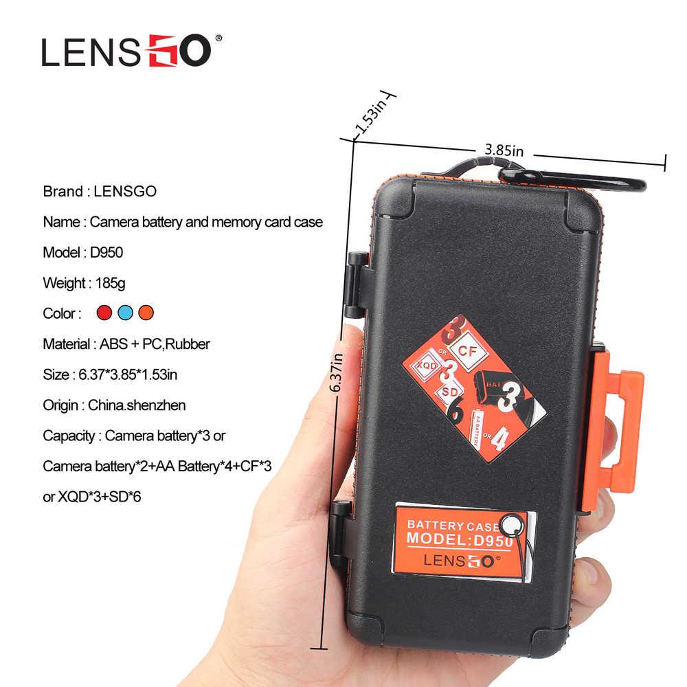 كاميرا علبة البطارية لكانون LP-E6/LP-E6N/LP-E17/سوني NP-FW50/NP-FZ100/نيكون EN-EL15 ، SD CF XQD بطاقة تخزين مقاوم للماء حامل