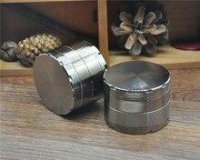 1 X CHROMINUM BRECHER 4 Teil 60 MM Zink-legierung Metall Grinder Brutom Hand Muller Gewürzmühle Brecher Diamant zähne