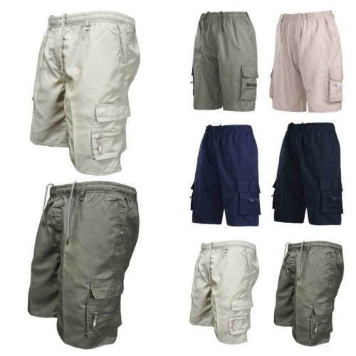 b38d63220dac Detail Feedback Questions about 2018 New Fashion Men Summer Elasticated  Plain Shorts Drawstring Pocket Lightweight Cargo Combat Men Casual Short  Plus Size S ...