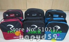 brand new bowling ball bag shoes bag bowling bag packs black color bowling accessories(China)