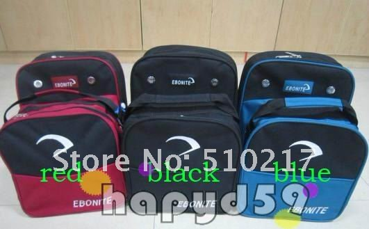 brand new bowling ball bag shoes bag bowling bag packs black color bowling accessories