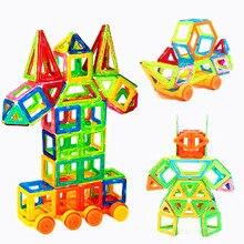 213 шт. мини размер Магнитный конструктор Строительный набор модель и конструкторы магниты магнитные блоки Развивающие игрушки для детей