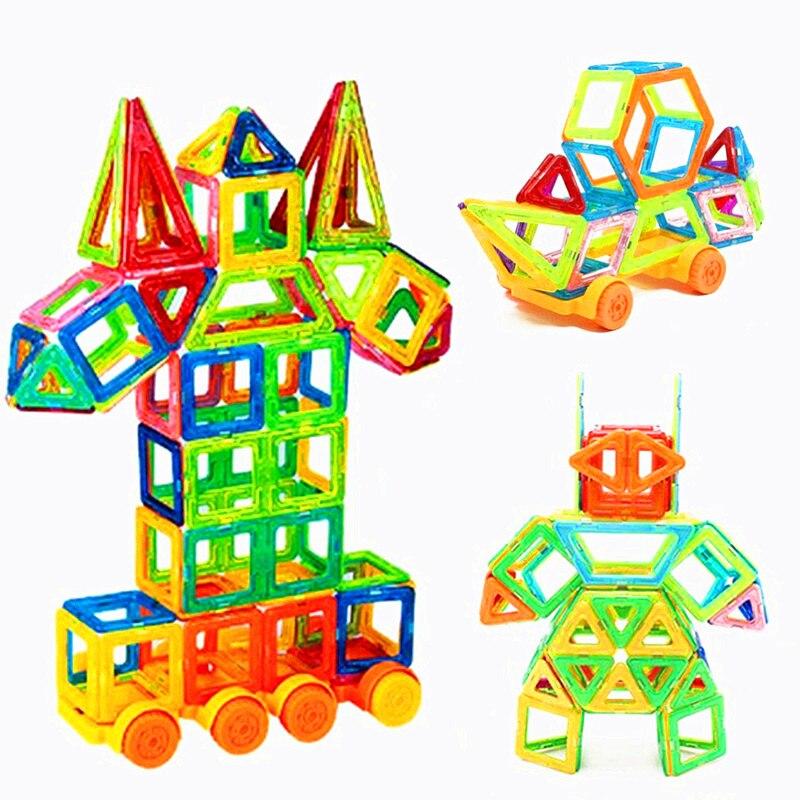 213 Pcs Mini Magnetische Designer Bouw Set Model & Building Toy Magneten Magnetische Blokken Educatief Speelgoed Voor Kinderen