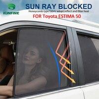 4 قطعة/المجموعة أو 2 قطعة/المجموعة المغناطيسي سيارة نافذة جانبية الشمسيات شبكة الظل أعمى لتويوتا ESTIMA 50
