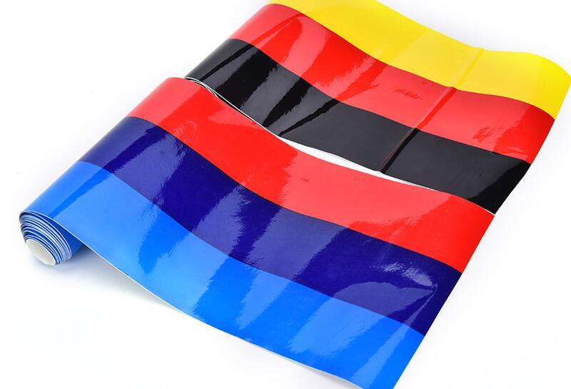 1M fashionable Car personality stripe sticker. for AUDI a1 a3 a4L a4 a5 a6 b8 c5 c6 b7 a6L a7 a8L S5 S a8 S8 Q3 Q5 Q7 SQ5 Q1