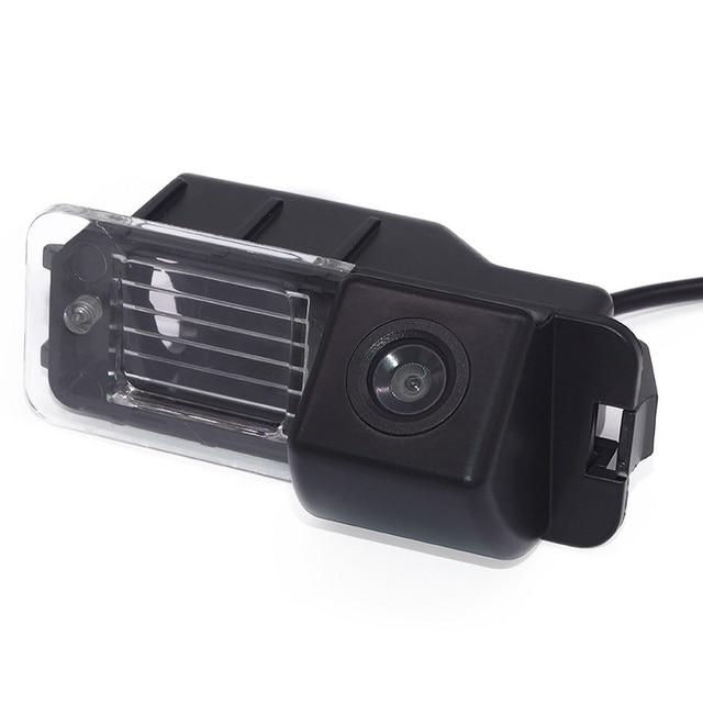 HD araba ters kamera Volkswagen Magaton Golf Passat CC Polo gece görüş otomatik dikiz kamera araç kamerası