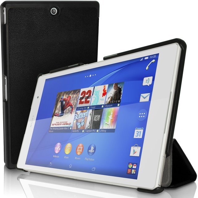 Case cover for sony xperia z3 tablet compact 8 inch magnet clap pu leather case for xperia z3 - Funda xperia z tablet ...