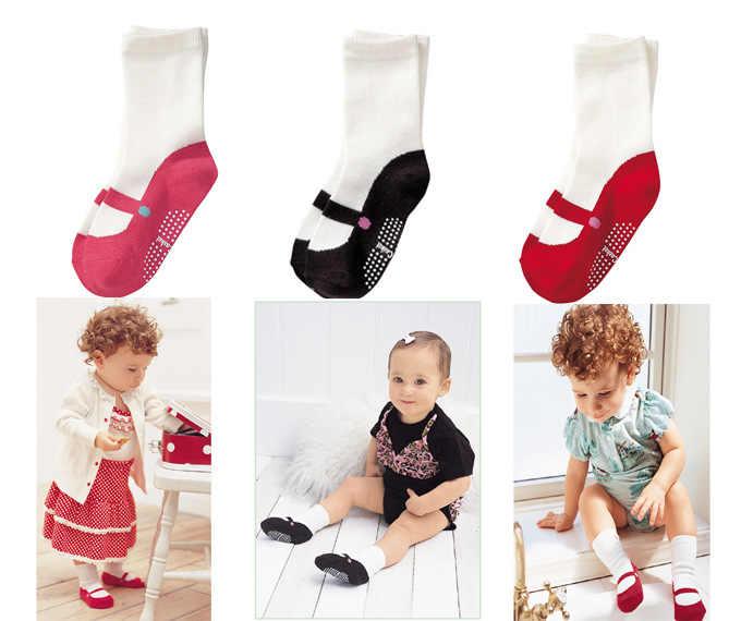 Детские носки нескользящие 1 Пара Одежда для новорожденных мальчиков и девочек, носки с резиновой подошвой зимняя одежда для новорожденных Cosas Para Bebes