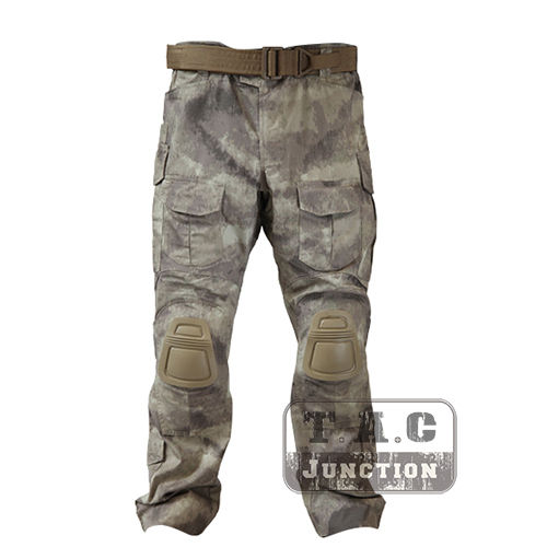 Tactical Emerson BDU G3 Combat Pants Emersongear CP Style Battlefield Trousers Assault Uniform w/ Knee Pads A-Tacs AT tacs ts1103c