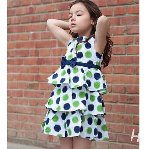 (New product)spring/summer 2016 new jacadi-MONSOON-BP childrens GIRLS baby girls wear dress 01