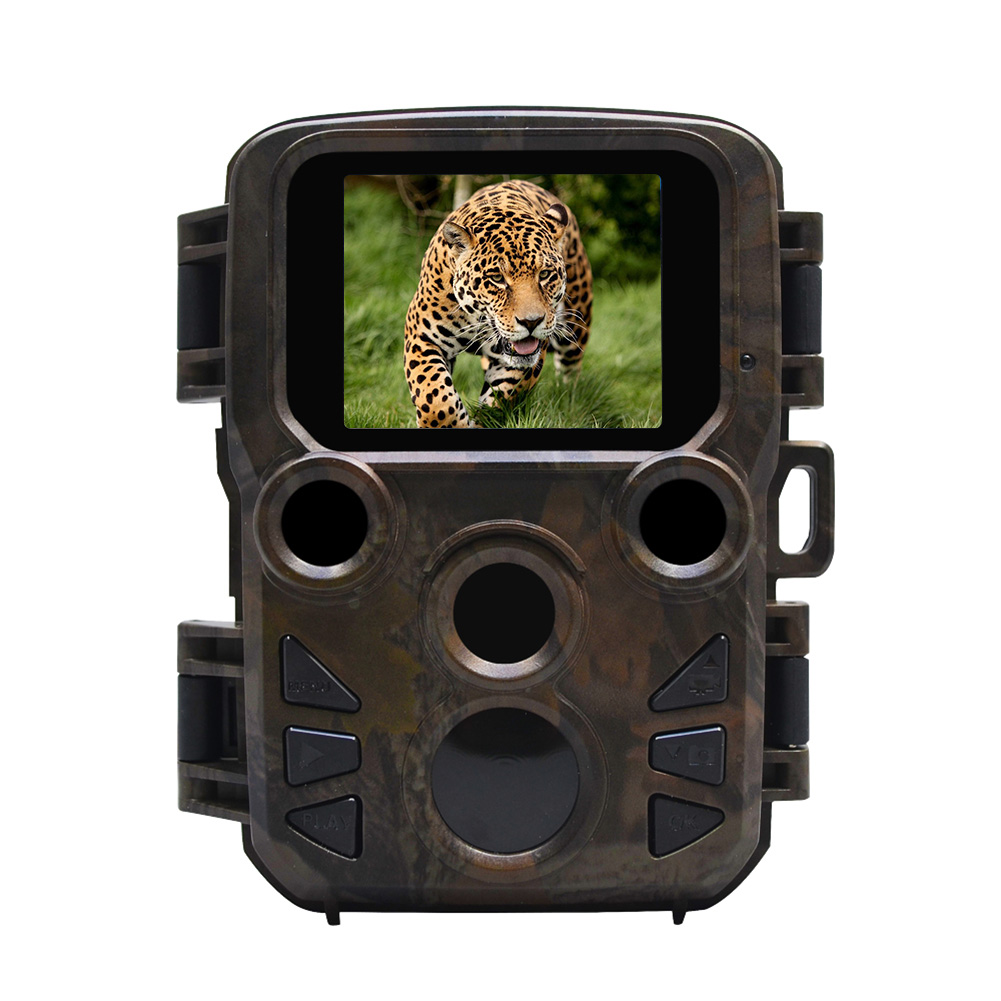 Wildlife Trail PhotoTrap Mini Hunting Camera 12MP 1080P Waterproof Video Recorder Cameras for Security Farm Fast