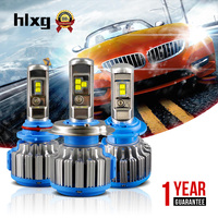 2017 Super Bright H7 Led Car Headlight Set 7000LM 35W Canbus Automobile 12V Headlamp White Xenon