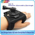Free Shipping!! Size:S,360-degree Rotation, Glove-style Mount with Waterproof Shell For GITUP,SJ4000,Gopro,Xiaomi camera