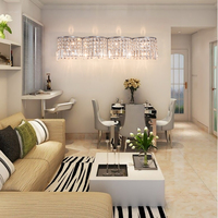 Restaurant Wall Decor Loft Wall Mount Lights Hollywood Style led Vanity Mirror Lights Modern Wall Lamp Crystal Wall Sconce Home