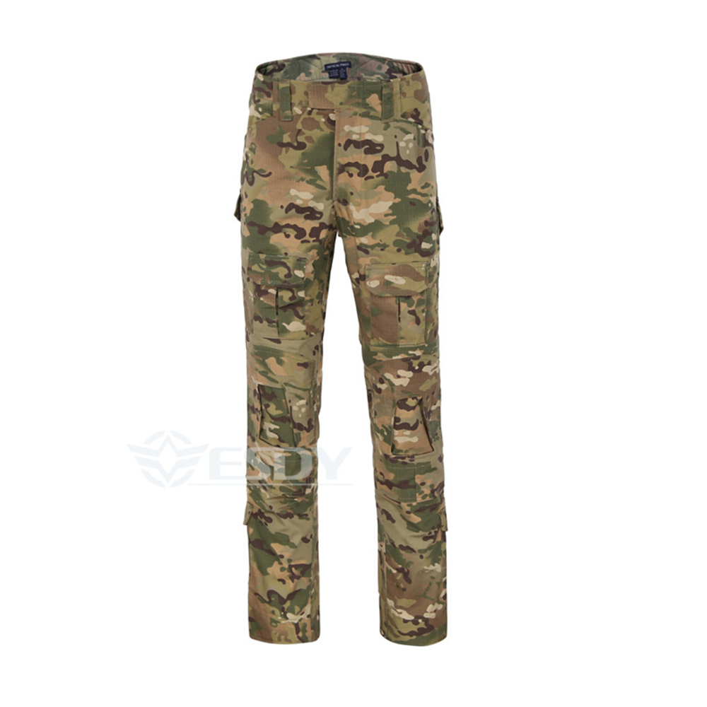 Camouflage Tactical Military Clothing Paintball Army Cargo Pants Combat Trousers Multicam Militar Tactical Pants mgeg militar tactical cargo pants men combat swat trainning ghillie pants multicam army rapid assault pants with knee pads