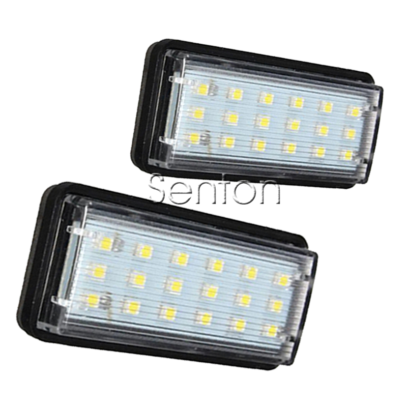 1Pair Car LED number License Plate Light 12V SMD LED lamp Car Styling For Toyota Land Cruiser Prado For Lexus LX470 LX570 GX470 for lexus toyota corolla atis 2001 2007 led car license plate light number frame lamp high quality led lights