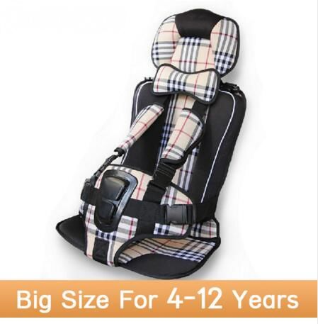 kids car protection 4 12 years old baby car safety seatsportable and comfortable infant safety seatpractical baby cushion