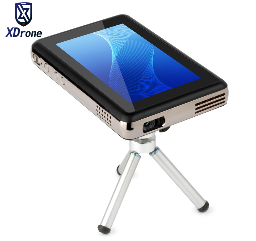 2017 China Portable Smart Mini Touch Android Projector Tablet PC DLP 150 Lumen Quad Core RK3288 5.5 Inch Screen WiFi HI-FI стоимость