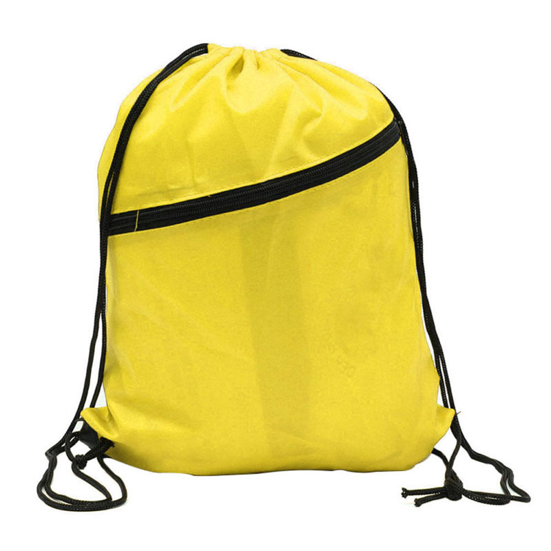 6 Colors Portable Waterproof Nylon Shoe Bags Drawstring Dust Basketball Backpacks Storage Pouch Outdoor Travel Storage Gym Bags