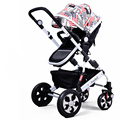 2016 Super Quality Lightweight Baby Stroller Folding Children Strollers Baby Carriage 8 Colors Baby Buggy Portable Pushchairs