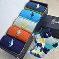 5 paris/lot Men Socks cotton brand Men's Socks Novelty Casual  Xmas winter Autumn cotton socks Gifts