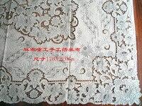 Thehomes ручной вышивкой скатерти скатерть покрывало благородство 176x220 см