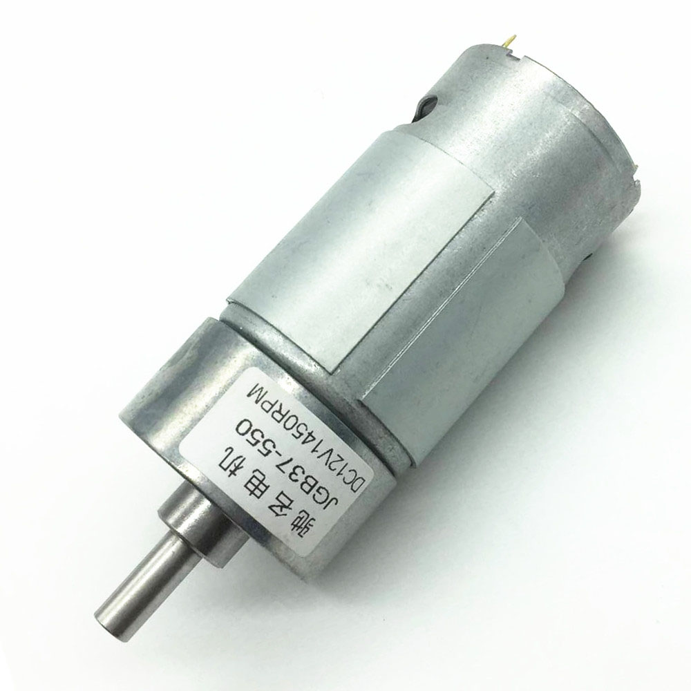 37GB550 DC Geared Motor High Power Geared Motor 6V12V High Torque Smart Car Balanced Car Motor in DC Motor from Home Improvement