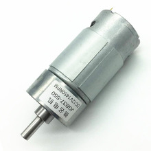 37GB550 DC Geared Motor, High Power 6V12V Torque, Smart Car, Balanced Car Motor