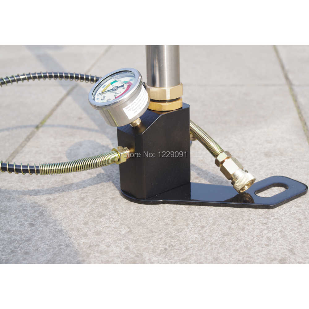 Bomba de aire de mano PCP bomba de alta presión 4500psi 300bar