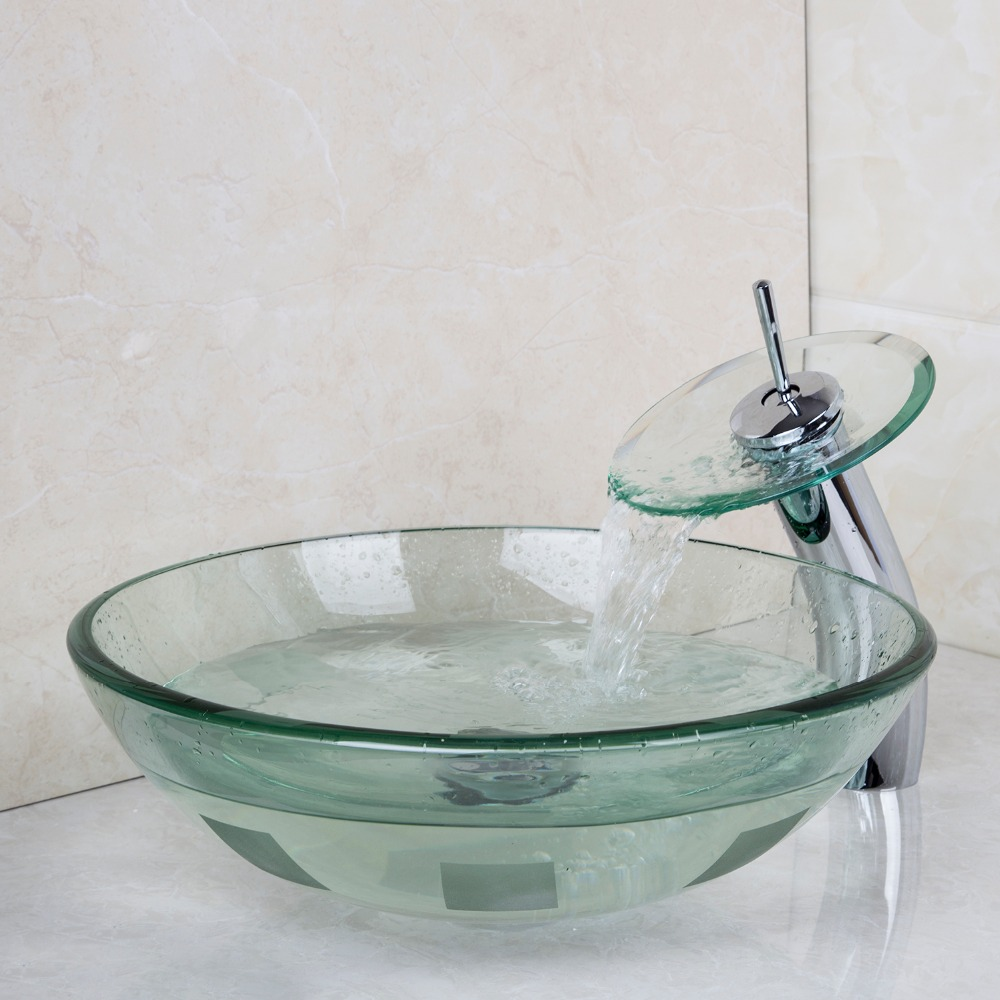 Glass Sink Bathroom Popular Glass Vanity Basin Buy Cheap Glass Vanity Basin Lots From