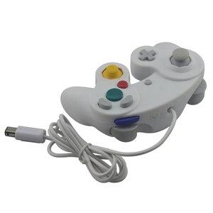 Image 5 - หมายเลขติดตาม WIRED Game Controller Gamepad สำหรับ N G C จอยสติ๊กหนึ่งปุ่มสำหรับเกม Cube สำหรับ W I I
