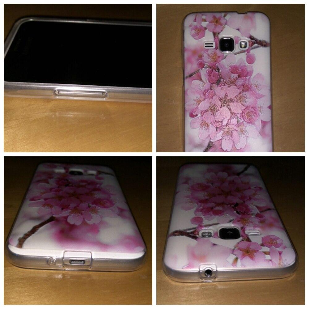 Tas Untuk Samsung Galaxy J1 J3 J5 2016 J120F Kasus Lembut TPU Funda - Aksesori dan suku cadang ponsel - Foto 6