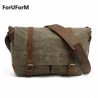 High Quality Waterproof Canvas Sports Bag SLR Camera Shoulder Bag Travel Outdoor Messenger Bag LI 1382