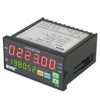 MYPIN Multi Functional Preset 6 Digital Counter Intelligent Length Batch Meter 24V DC Length Counter Meter