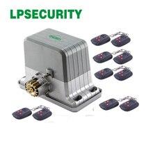 LPSECURITY motor de puerta corredera de alta resistencia, tobogán g con 20 transmisores, 120V, 230V, 1800KG