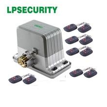 Lpsecurity 120V 230V 1800Kg Automatisering Schuifpoort Motor Heavy Duty Slide G Met 20 Zenders