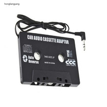 10.5*6.5cm aux cassette adapter mp3 player for cars casette cassete