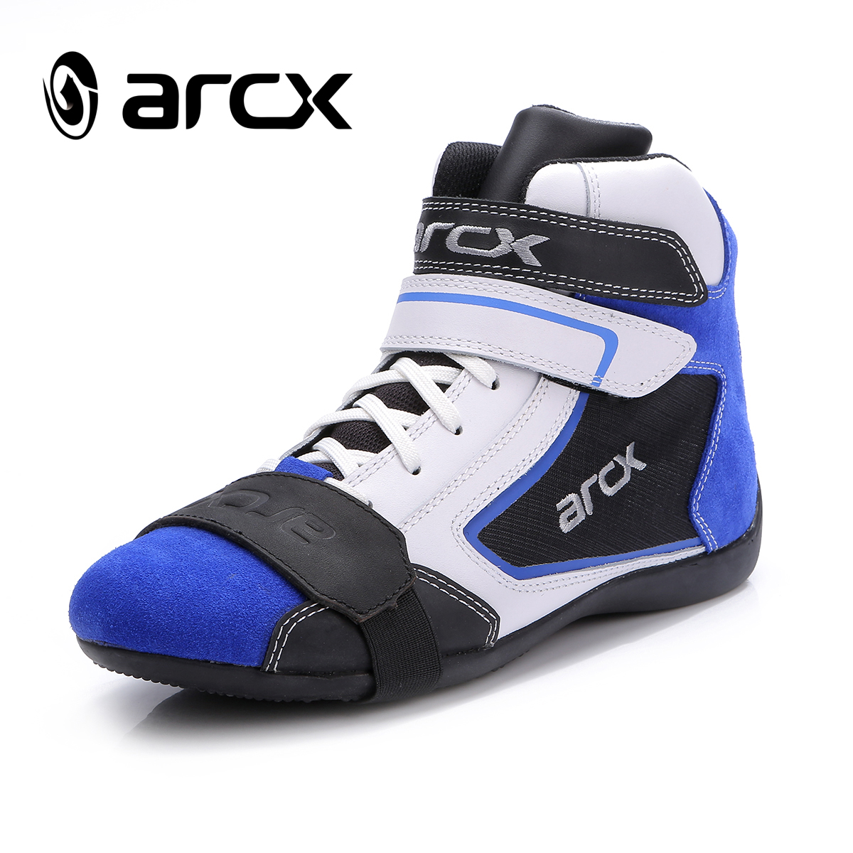 купить Arcx leather outdoor motorcycle shoes men's racing shoes protect shoes breathable moto shoes по цене 4181.85 рублей