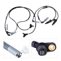 DWCX 34521164651 34521164652 4pcs Front Rear ABS Wheel Speed Sensor Fit For BMW 3 Series E46