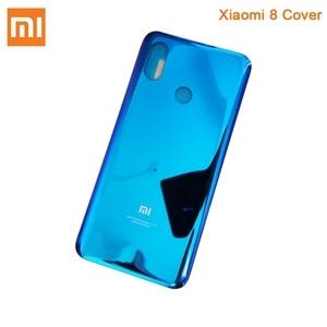 Image 5 - Original Glass Battery Rear Case For Xiaomi 8 MI8 M8 8SE Back Battery Cover Phone Battery Backshell Back Cover Cases