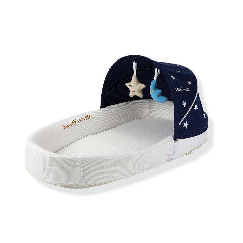 Babyboat Newborn Portable Bed Bed Multi-functional Bionic Bed Foldable Pressure-proof