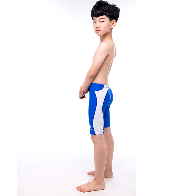 c3ee799e96 Boys swim trunks Flat long section Professional Boys swimwear Comfortable  and quick to dry Teen swimwear Exquisite craft