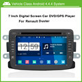 Android 4.4.4 System Car DVD Video Player For Renault Duster With GPS ,Speed 3G, enjoy the Built-in WiFi