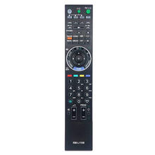 New Replacement RM-L1108 For Sony BRAVIA W/XBR/ Series LCD TV Remote Control KLV-52W300A KDL-40W3000 RM-GA017 RM-YD017