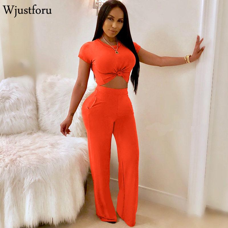 Wjustforu Short Sleeve Wide Leg Casual   Jumpsuit   Womens Romper Bodycon Fashion Elegant   Jumpsuit   Pure Color Party   Jumpsuit   Femlae