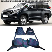 Left Hand Drive! Car Floor Mat Pad 1set For Toyota Prado Fj150 5Seats 2010-2013